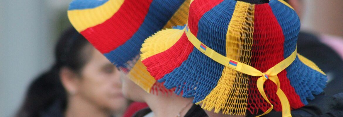 Colombian hats featured image in the article Traveling Colombia.