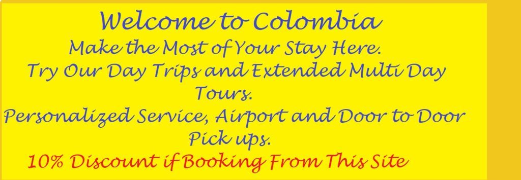 Welcome to Colombia Banner, used in the article, Best of Medellin, Cartagena and the Pacific Coast of Colombia