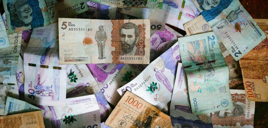 Colombian money used in the article Is Colombia Expensive for Tourists.