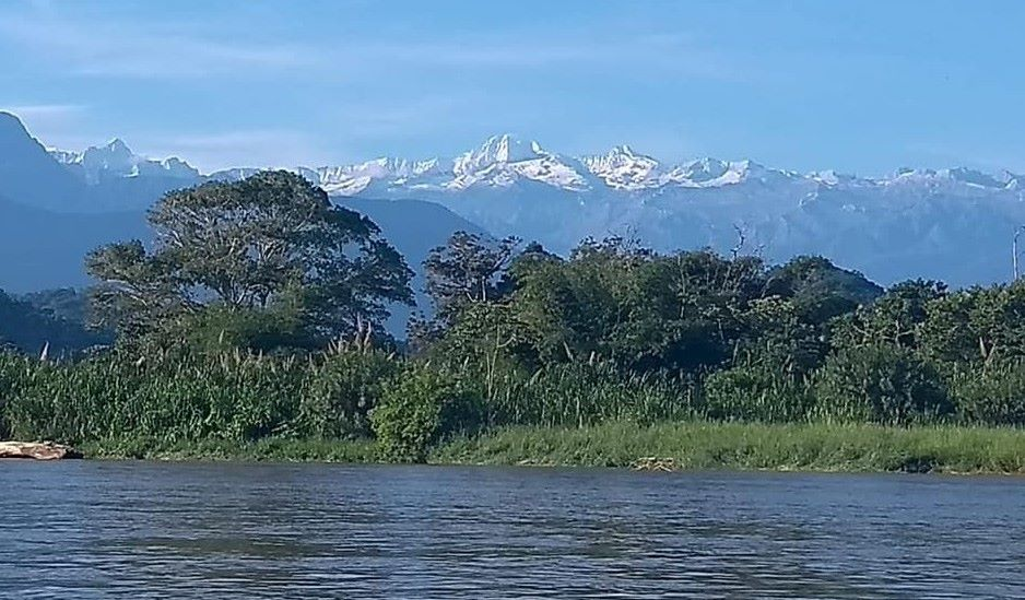 Sierra Nevada mountains near Palomino. on the page South America Travel Photos and Comment Page.