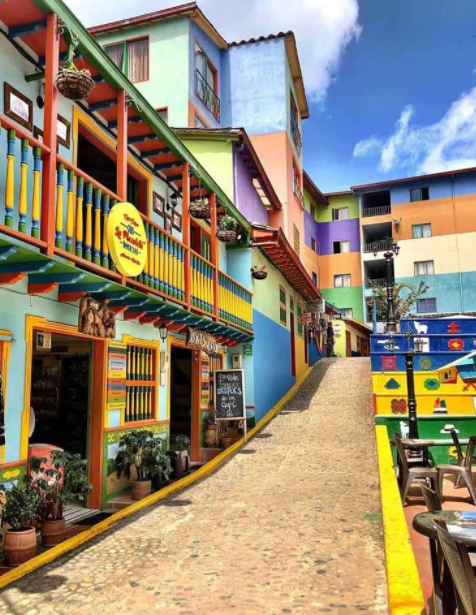 Photo of Guatape Colombia used in the article Best of Medellin, Cartagena and the Pacific Coast of Colombia