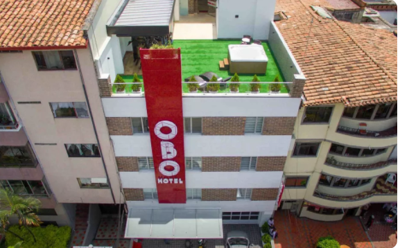 Photo of the Hotel OBO in Medellin used in the article, Best of Medellin, Cartagena and the Pacific Coast of Colombia.