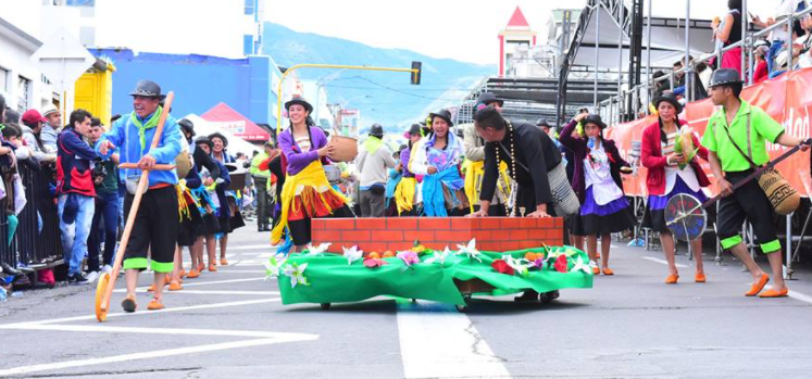 Black and White Carnival Pasto Colombia. Used in the article, What is the Best Time of Year to Visit Colombia